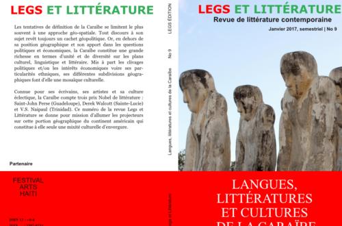 Article : Langues, littératures et cultures dans la caraïbe